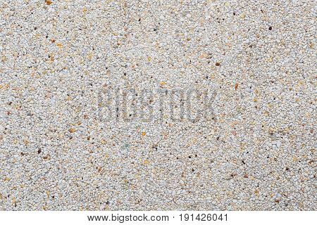 exposed aggregate finish or washed concrete texture background