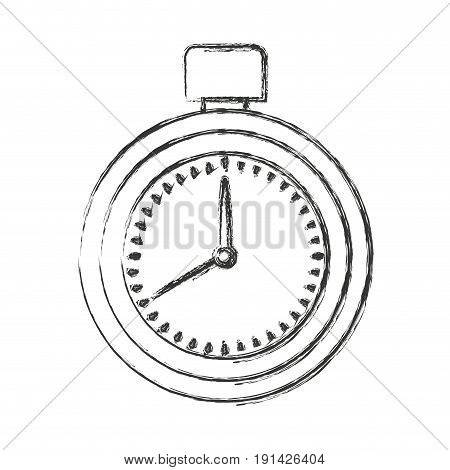 blurred silhouette of measurer with stopcock vector illustration
