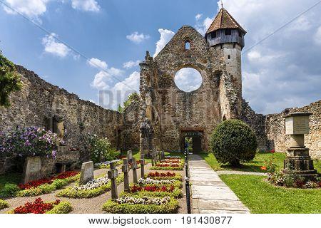 Carta, the old ruined cistercian abbey, Romania