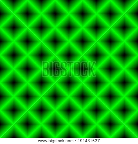 Black and green chessboard , abstract geometric background