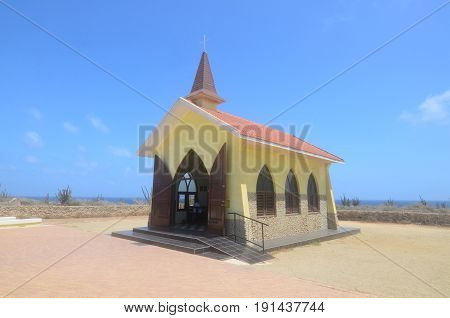 Adorable Christian Alto Vista Chapel in Noord Aruba.