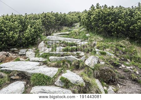 Stone Paths to Highlands. Tatra Mountains - Slovakia.