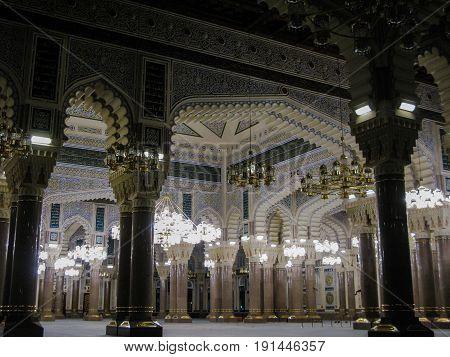 Interior of Saleh mosque - 02-11-2009 Sanaa Yemen