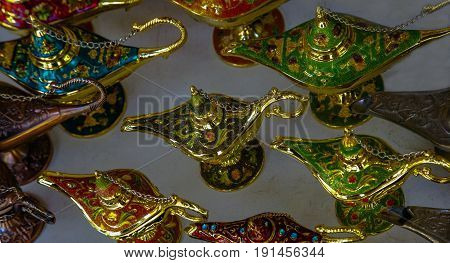 Alladin Magic Lamp is Full of Mystery