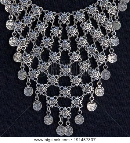Beautiful Silver Traditional Jewelry in Bosnia and Herzegovina