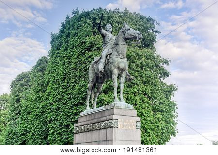 Simon Bolivar Monument - Paris, France
