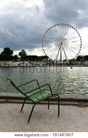Tuileries Garden - Paris, France