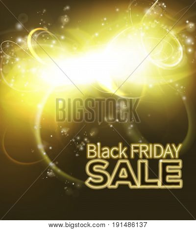 Black Friday abstract Sale background Black Friday SALE neon text