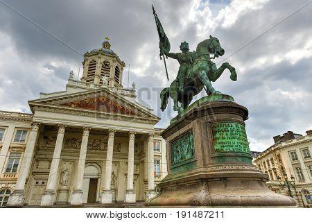 Royal Square - Brussels, Belgium