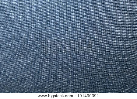 Fabric Texture Close Up of Blue Denim or Jean Pattern Background.