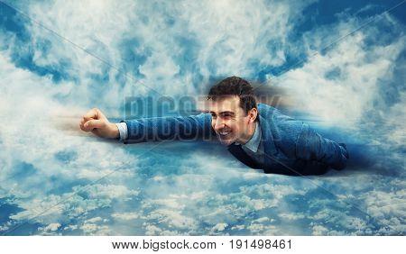Flying Like A Superhero