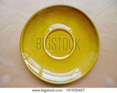 saucer ceramic for food, drink and beverage