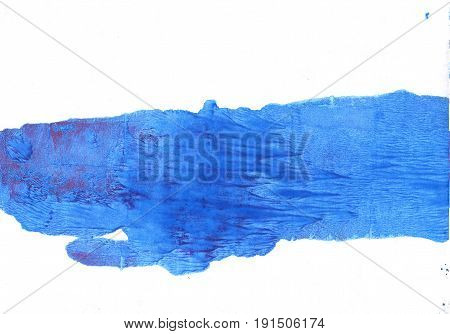 Hand-drawn abstract watercolor. Used colors: White Bleu de France Blue Jeans Bright navy blue Blueberry New car Brilliant azure Royal blue Tufts Blue Very light azure