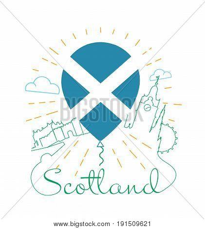 Logo For Travel To Scotland