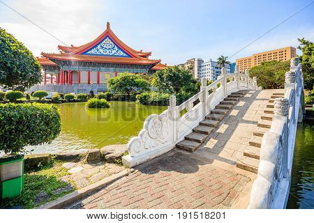 National Concert Hall at Liberty Square in Taiwan It is a public plaza for gatherings in the Zhongzheng District of Taipei.
