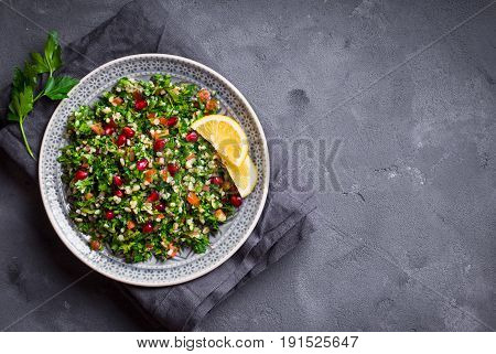 Tabbouleh Salad Background