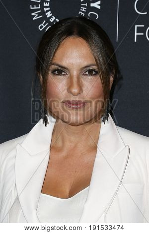 NEW YORK - MAY 17: Mariska Hargitay attends The Paley Honors: Celebrating Women in Television at Cipriani Wall Street on May 17, 2017 in New York City.