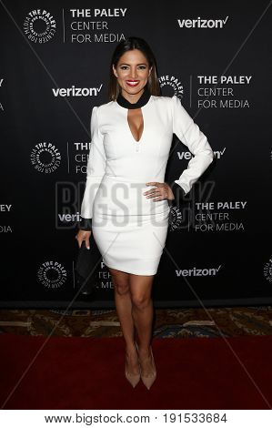 NEW YORK - MAY 17: Pamela Silva Conde attends The Paley Honors: Celebrating Women in Television at Cipriani Wall Street on May 17, 2017 in New York City.