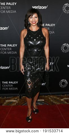 NEW YORK - MAY 17: Gloria Reuben attends The Paley Honors: Celebrating Women in Television at Cipriani Wall Street on May 17, 2017 in New York City.