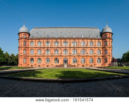 Gottesaue Palace Castle Schloss In Karlsruhe Musik Hochschule University Architecture Building Exter
