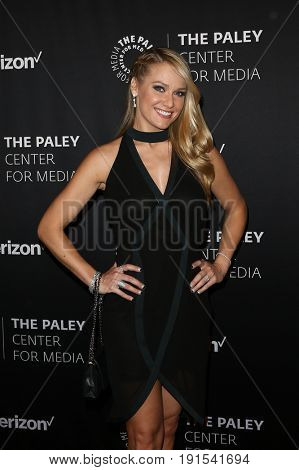 NEW YORK - MAY 17: Sportscaster Heidi Watney attends The Paley Honors: Celebrating Women in Television at Cipriani Wall Street on May 17, 2017 in New York City.