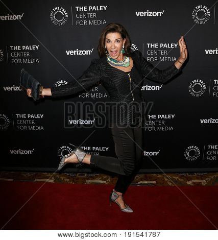 NEW YORK - MAY 17: Hilary Farr attends The Paley Honors: Celebrating Women in Television at Cipriani Wall Street on May 17, 2017 in New York City.