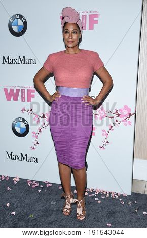 LOS ANGELES - JUN 13:  Tracee Ellis Ross arrives for the Lucy Crystal Awards 2017 on June 13, 2017 in Beverly Hills, CA
