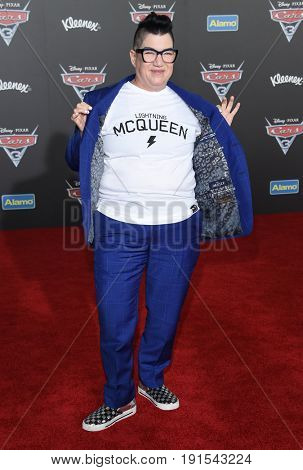 LOS ANGELES - JUN 10:  Lea DeLaria arrives for the