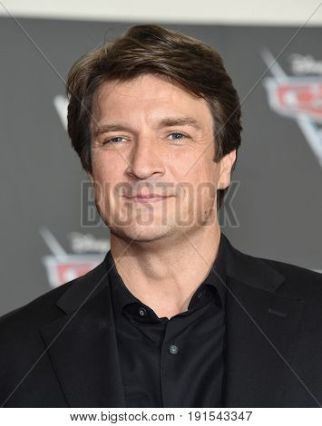 LOS ANGELES - JUN 10:  Nathan Fillion arrives for the