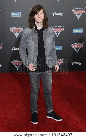 LOS ANGELES - JUN 10:  Chandler Riggs arrives for the