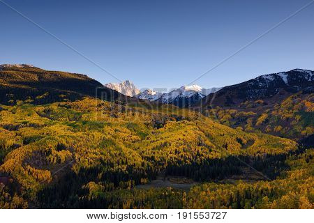 Fall Color Capital Peaks, Snowmass Village, Colorado
