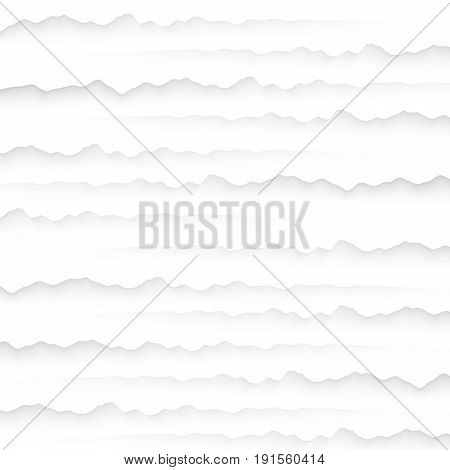 White texture. abstract pattern seamless. cracks wall peeling nature geometric modern. on white background for interior wall 3d design. vector illustration