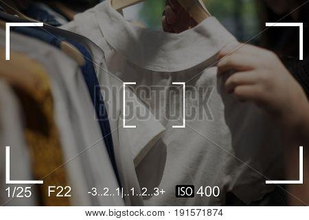 Clothes Camera Capture Snap Shot Banner