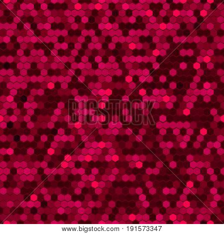 Abstract Vector Background, Color Comb Ornament Illustration