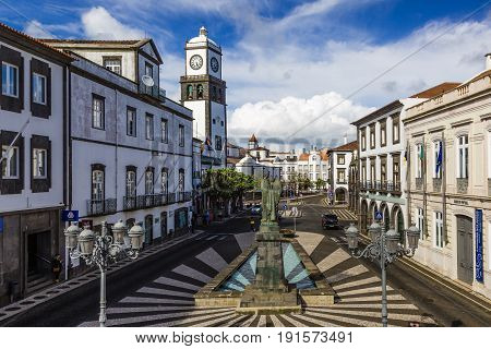 Church Of St. Sebastian In Ponta Delgada, Azores