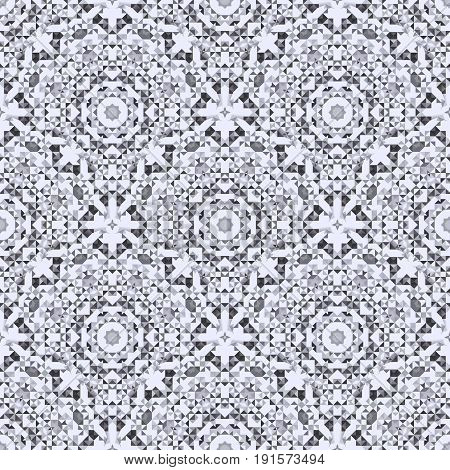 Ornamental Seamless Pattern. Abstract Geometrical Vector Background