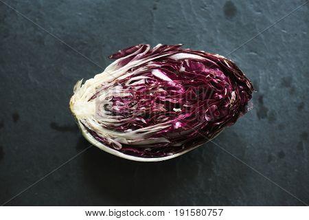 Fresh natural organic edible cabbage