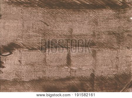 Hand-drawn abstract watercolor background. Used colors: Mud Beaver Dark brown-tangelo Dark liver Pale taupe Coffee Liver chestnut Raw umber Pastel brown Light taupe
