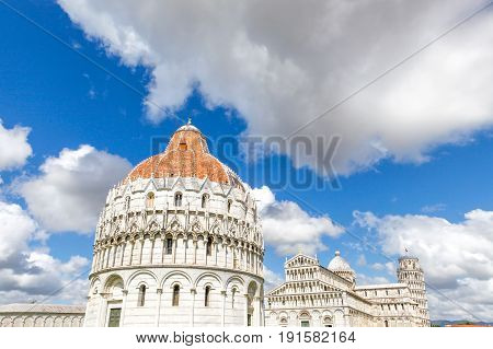 ancient, architecture, art, baptistery, basilica, beautiful, blue sky, building, cathedral, church, city, culture, daytime, dei, dome, duomo, europe, european, famous, historic, history, holiday, italian, italy, landmark, leaning, leaning tower of pisa, m