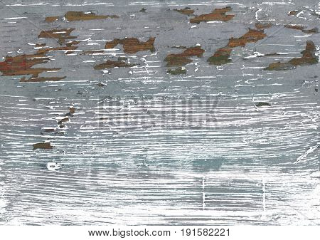 Hand-drawn abstract watercolor background. Used colors: White Philippine gray Roman silver Spanish gray Gray AuroMetalSaurus Manatee Battleship grey Ghost white
