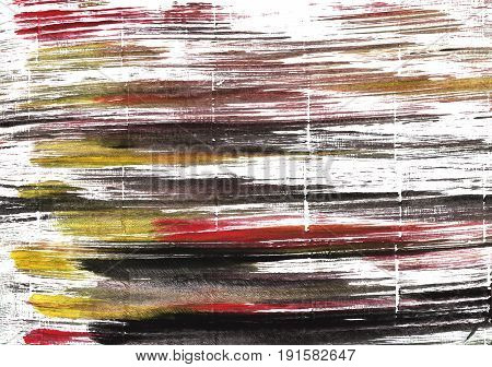 Hand-drawn abstract watercolor background. Used colors: White Raisin black Snow Licorice Wenge Eerie black Baby powder Deep Taupe Dark charcoal Cinereous