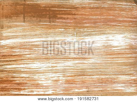 Hand-drawn abstract watercolor background. Used colors: Brown Yellow Deer White Fawn Coconut Raw Sienna Metallic bronze Gold Desert sand Tumbleweed Camel