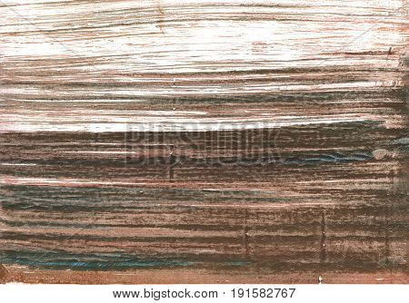 Hand-drawn abstract watercolor background. Used colors: White Beaver Dark liver Pastel brown Light taupe Dark lava Pale taupe Umber Shadow Mud Grullo Coffee