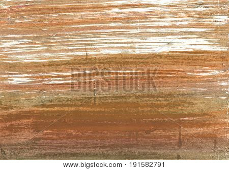 Hand-drawn abstract watercolor background. Used colors: Coconut Deer Metallic bronze Brown Yellow White Light taupe Camel Milk chocolate Coyote brown Antique brass