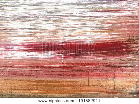 Hand-drawn abstract watercolor background. Used colors: White New York pink Copper penny Pastel pink Snow Tumbleweed Tuscany Copper Grullo Giants Club Indian red