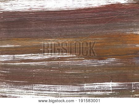 Hand-drawn abstract watercolor background. Used colors: Rose ebony Deep Taupe Mud White Dark liver Wenge Coffee Umber Pastel brown Liver Shadow Milk chocolate