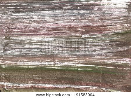 Hand-drawn abstract watercolor background. Used colors: Shadow Wenge Umber Deep Taupe White Cinereous Pastel brown Grullo Beaver Dark liver Snow Bazaar