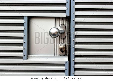 An image of a security door - architekture