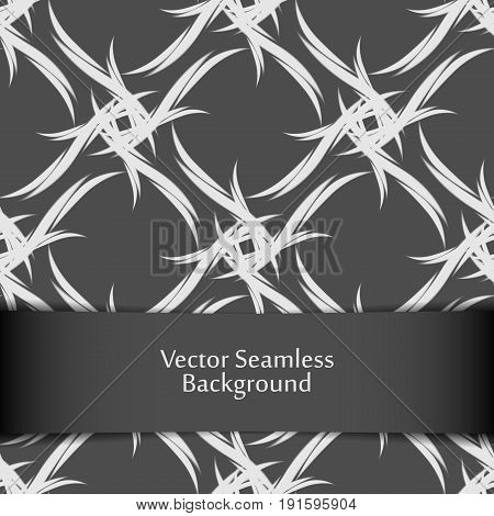Vector seamless geometric background. Pattern for design, brochures, wrapping. Eps10