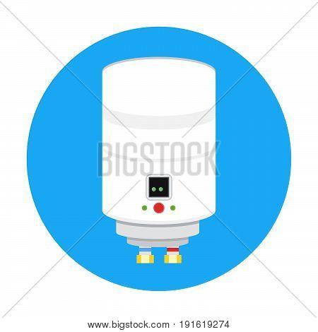 Boiler icon vector, hot, energy, symbol, home.